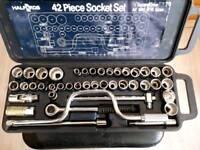 Halfords 42 Piece Socket Set