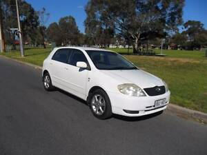 2004 Toyota Corolla TTR-LE   Seca  Hatch Henley Beach Charles Sturt Area Preview