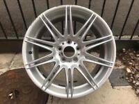 "Genuine BMW MV4 9J Rear 19"" M Sport Alloy Wheel"