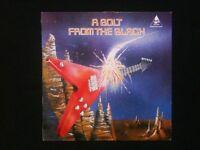 A BOLT FROM THE BLACK LP - RARE Compilation LP - NWOBHM - Thunderbolt 1984 - Samson, Heretic etc