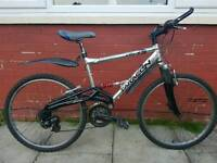 Saracen Mountain bike.
