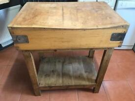 Fab old butchers block - can deliver