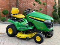 "John Deere X310 Ride on mower - 42"" Mulch deck - lawnmower - Honda"