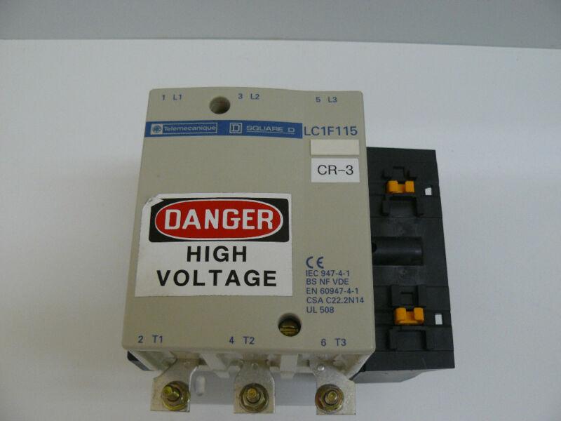 TELEMECANIQUE SQUARE D LC1F115 CONTACTOR