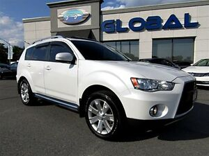 2010 Mitsubishi Outlander GT 7 PASSENGER LEATHER SUNROOF AWD