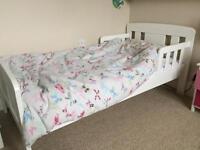 John Lewis White Boris Toddler Bed