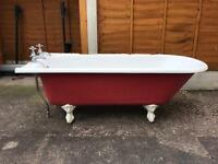 Left Hand Corner Freestanding Bath Tub traditional REDUCED FOR QUICK SALE