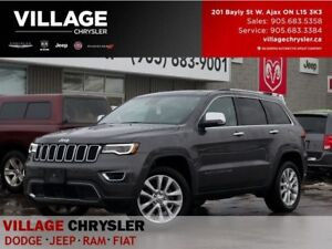 2017 Jeep Grand Cherokee Limited|NAV|Safe&Tech|Panroof|Remote|Ve