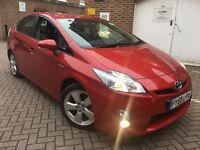 TOYOTA PRIUS T SPIRIT 1.8 VVTI = HYBRID = UK MODEL = PCO UBER READY = £6990 ONLY =