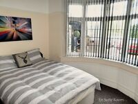 Double En-Suite Room In Solihull On The Stratford Road, All Bills Included Perfect Location!