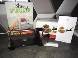 Spiralizer skinny spiraliser Recipe Cook Book Brand New