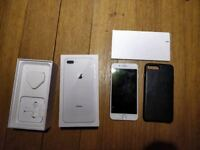 APPLE IPHONE 8 PLUS 256GB UNLOCKED, COMES W/ CHARGER, ADAPTER, HEADPHONES & GENUINE IPHONE CASE