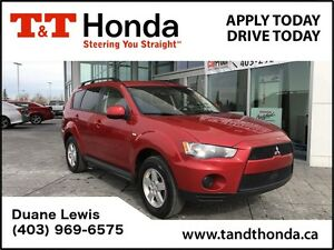 2013 Mitsubishi Outlander SE *No Accidents, Locally Owned, Heate