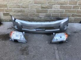 Genuine Toyota Hilux Front Bumper & Headlights 2005-2006-2007-2008-2009-2010