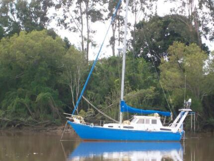 REDUCED John Pugh steel sloop.Ready to go sailing. Bidwill Fraser Coast Preview