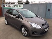 Ford C-Max 1.0 T EcoBoost Titanium 5dr (start/stop)£6,500 p/x welcome 1 YEAR FREE WARRANTY. NEW MOT