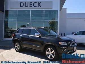 2015 Jeep Grand Cherokee Limited  Leather, Sunroof, Power Liftga