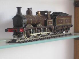 M&GNR railway OO gauge model kit built locomotive Johnson 0-6-0