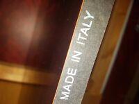 Italian made Mahogany 6 seater dining table