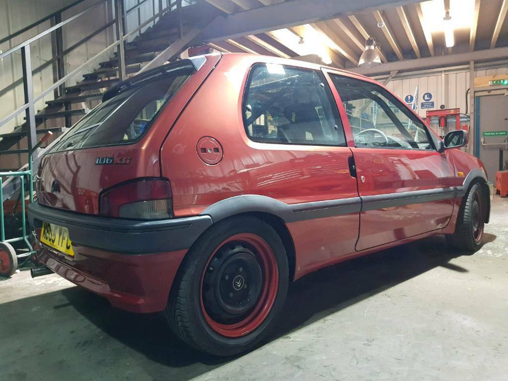 Peugeot 106 Xsi 16v Road Legal Track Car