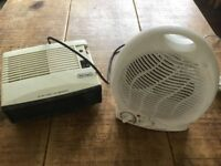 2x Electric Heaters
