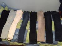 River island women's Amelie skinny jeans 28 32