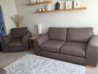 Immaculate 3-piece Marks & Spencer sofa suite