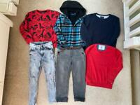 Next bundle of clothes boy 5-6 years - age 6