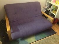 Double Futon by Futon Company with Drawer Birch