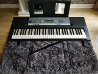 YPT-240 Yamaha with stand almost new