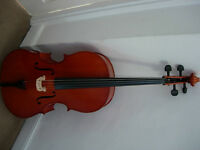 1/2 size Hungarian cello outfit - lovely instrument - save money on renting!