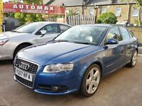 Audi A4 2.0 S Line 4dr, Full Service History, Great Condition, Free Warranty