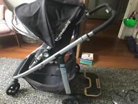 Uppa baby Cruz buggy and pram system