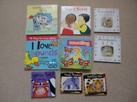 Bundle of Children Toddler Baby Books including Peter Rabbit Counting Colours Educational