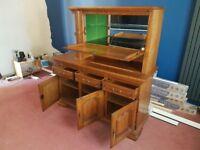 Oak Sideboard Dresser Drinks cabinet