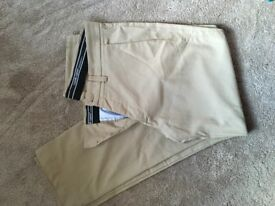 Genuine Galvin Green Golf Trousers in beige