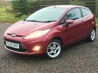 FORD FIESTA 1.2 ZETEC 2012 (62) ONE OWNER LOW MILES FULL FORD MAIN DEALER HISTORY LONG MOT BLUETOOTH