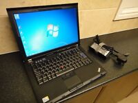 Lenovo Thinkpad Laptop, Dual Core