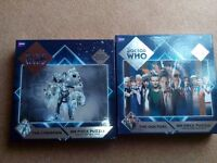 Doctor Who Jigsaw Puzzles x 2 - complete and great condition