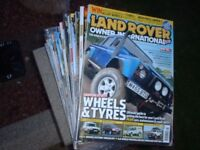 Land Rover Owner International Magazines Complete Years - 2004, 2005 and 2007