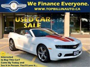 2011 Chevrolet Camaro 2LT Convertible, Red Interior, HUD