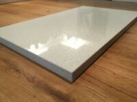 'Max-Top' (Engineered Quartz) offcuts x 2 plus upstands
