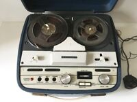 Vintage Reel to Reel Player and Recording