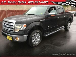 2013 Ford F-150 Lariat, Crew Cab, Automatic, Navigation, Sunroof