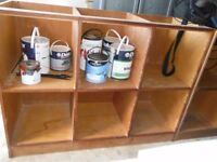 Workshop garage playroom storage shelving