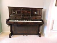 UPRIGHT PIANO Maker D'ALMAINE & CO.