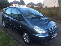 CITROEN XSARA PICASSO EXCLUSIVE LONG MOT STARTS AND DRIVES EXCELLENT