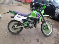 2001 on road kmx 125