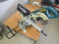 Makita 110v sliding mitre saw