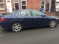 HONDA ACCORD 2.2 CDTI, 2007, BLUE, FULLY LOADED, SAT NAV, CD CHANGER, LEATHER, GOOD CONDITION